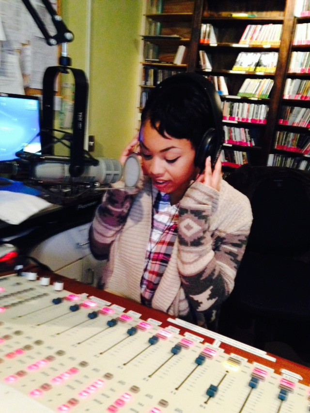 Shekeyah Hayes, VUU student and WRIR volunteer